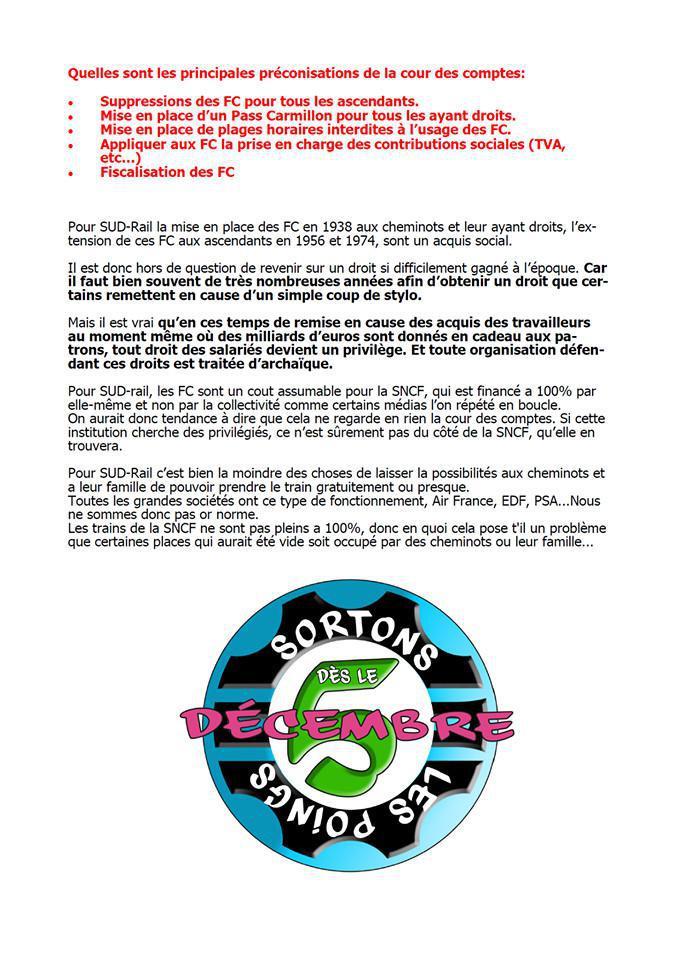 Facilités de circulation : La Cour des Comptes est sous coke