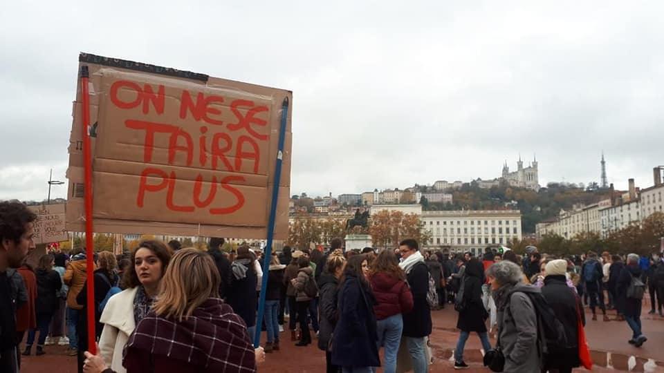Manifestation Nationale contre les violences sexistes et sexuelles faites aux femmes