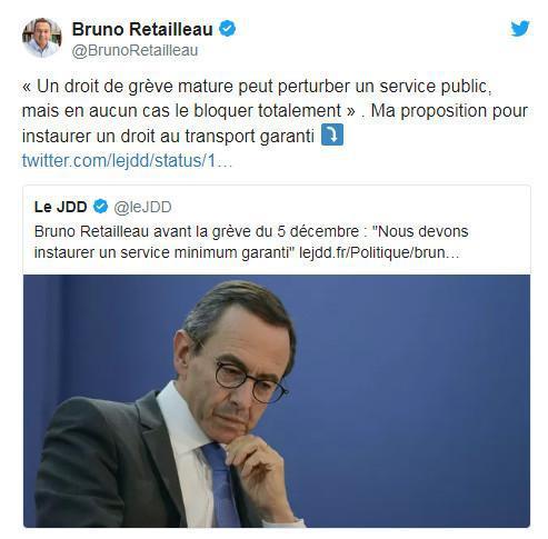 """Pour la grève du 5 décembre, les sénateurs LR veulent la """"réquisition"""" de grévistes"""