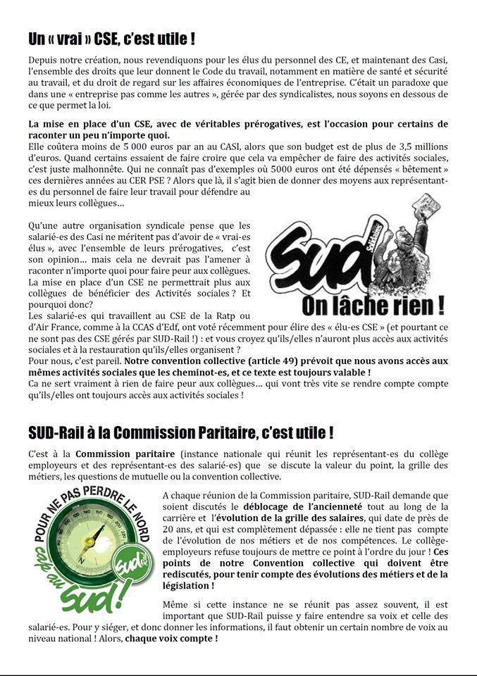 Election CSE Personnel CASI PSE