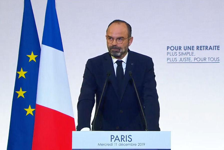 Retraites : 61% des Français pas convaincus par Édouard Philippe, selon un sondage