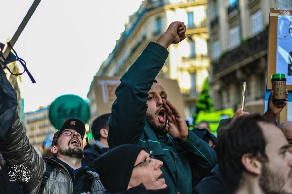 Photos : 26 décembre 2019, Manifestation Parisienne...