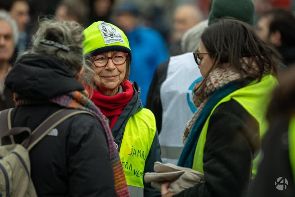 Manifestation Parisienne du 28 décembre... Jusqu'au retrait !