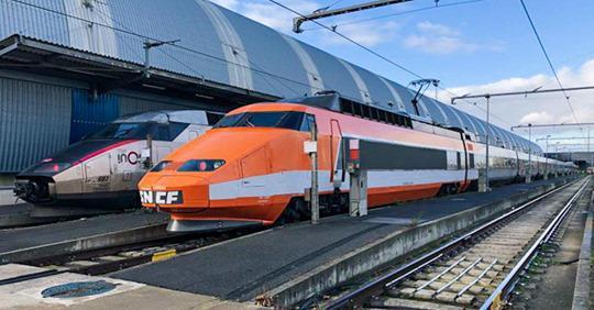 Patrick, le premier TGV, va prendre sa retraite après 41 ans de service