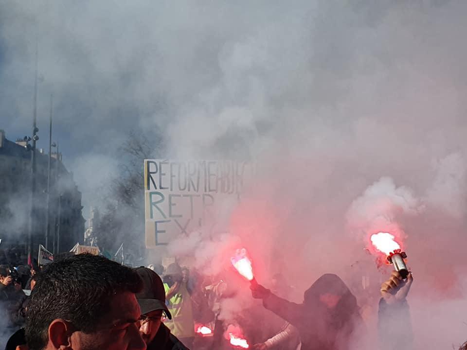 Manifestation Parisienne du 6 février 2019