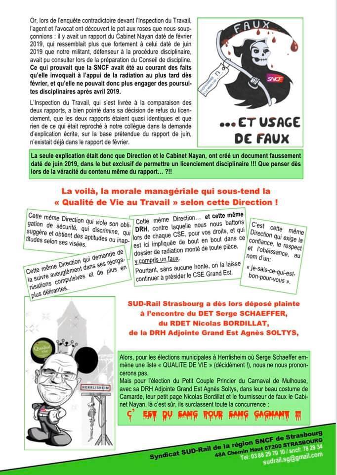 """""""FAUX et Usage de FAUX"""""""