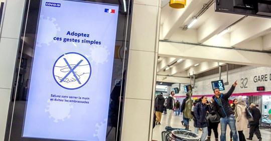 """Coronavirus : """"Une réunion dès lundi à la SNCF pour exiger des mesures"""", affirme SUD Rail"""