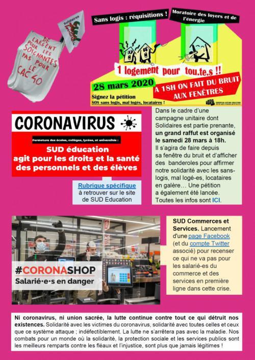 Syndicalistes, agir contre le capitalovirus #2