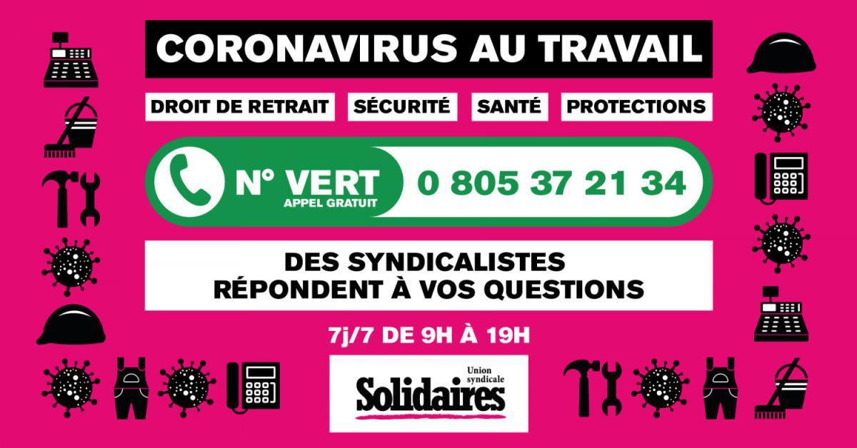 (Vidéo) Coronavirus : Le point syndical avec la fédération SUD Santé Sociaux