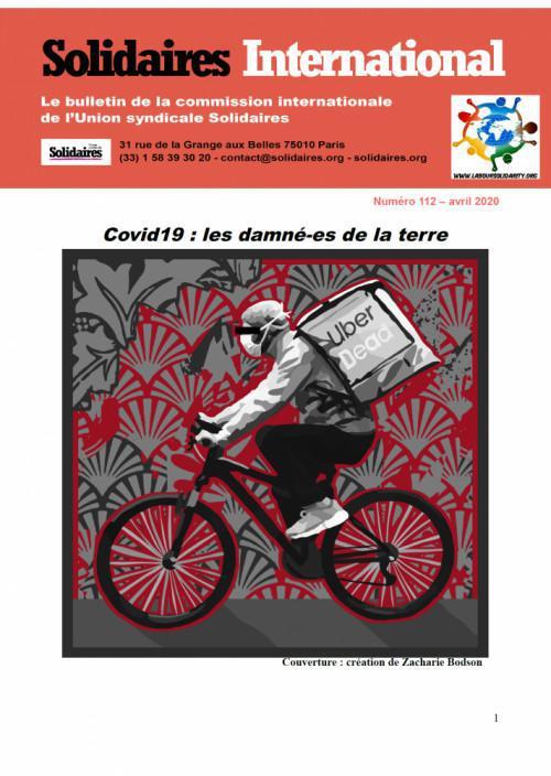 Bulletin « Solidaires international » n°112