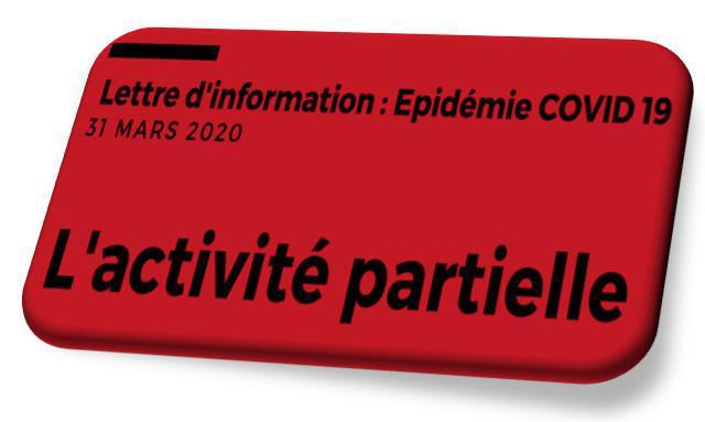 L'activité partielle, ordonnance du 27 Mars 2020
