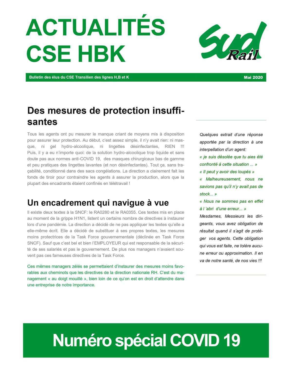 Actualités CSE HB&K