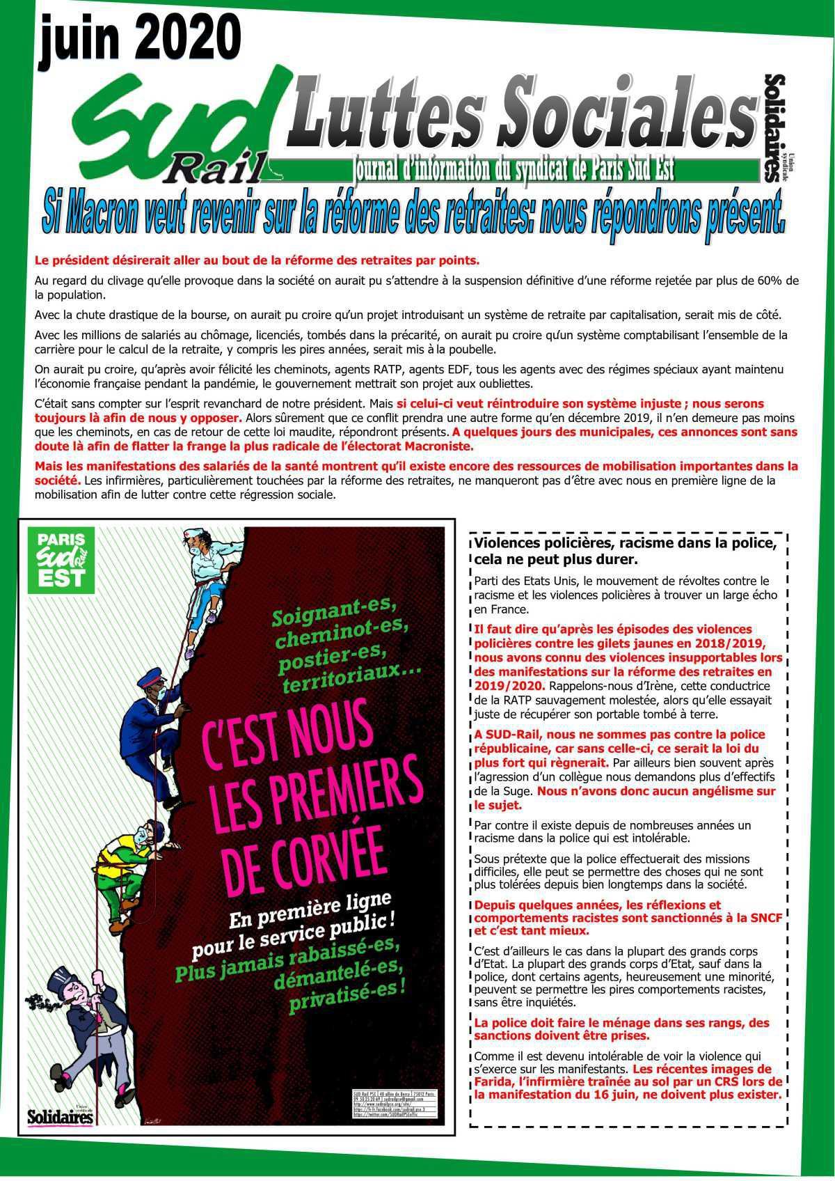 Luttes Sociales (Juin 2020)