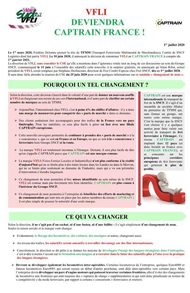 VFLI devient CAPTRAIN France !