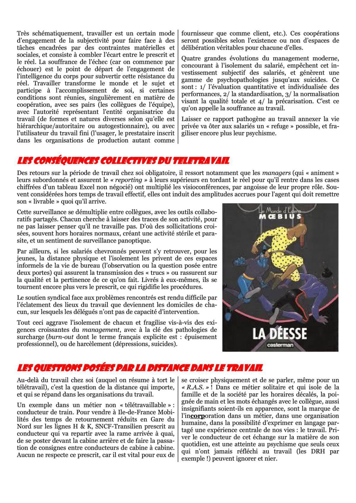 Journal Ici & Demain spécial Télétravail
