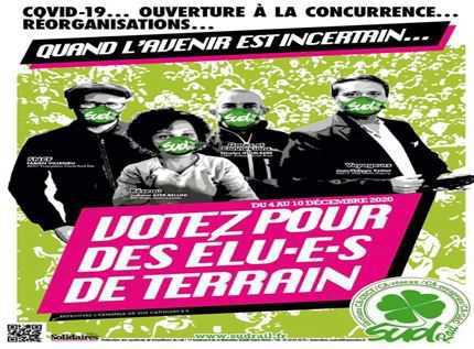 Vidéo : Votez et faites voter SUD Rail !