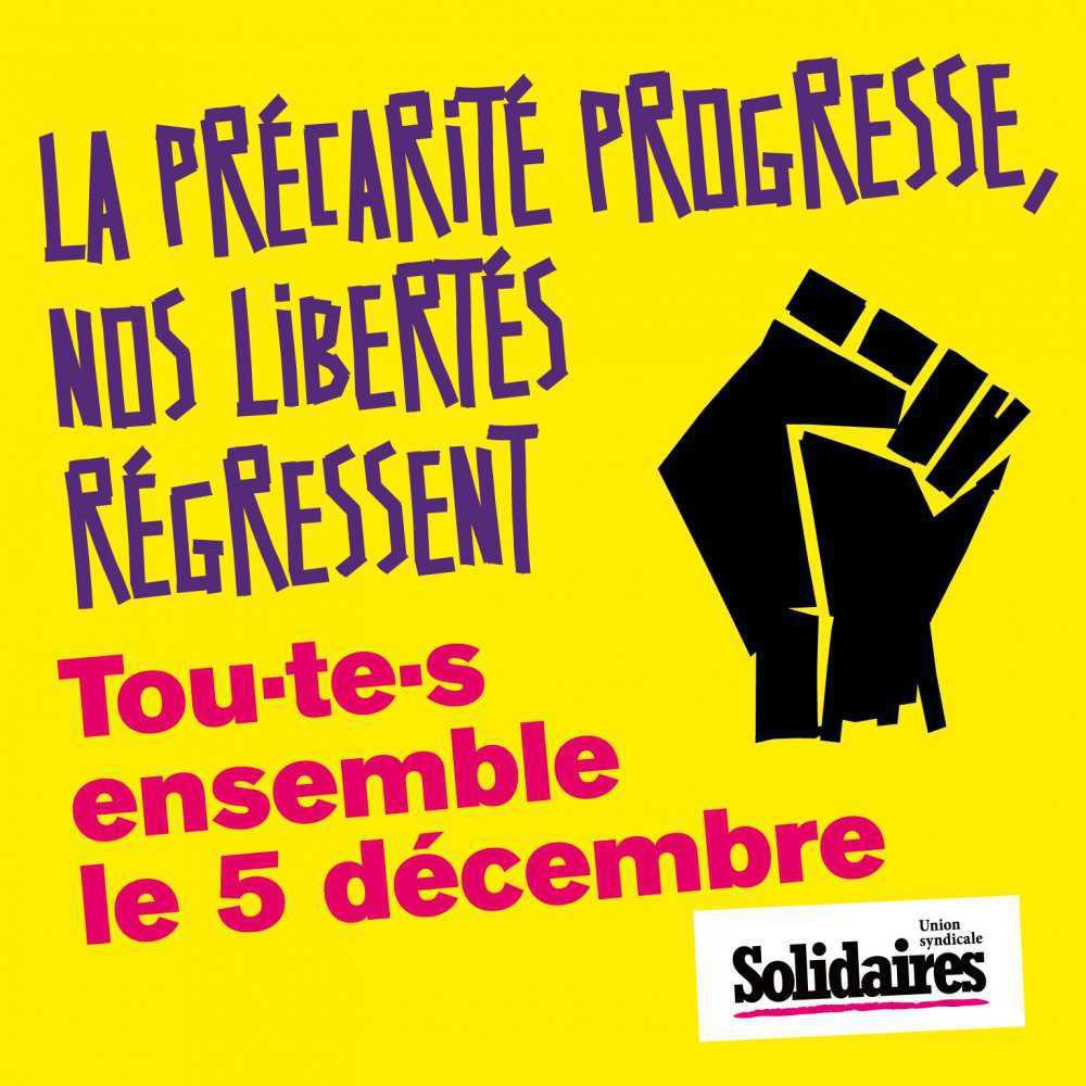 Les droits sociaux et les libertés ne sont pas négociables !