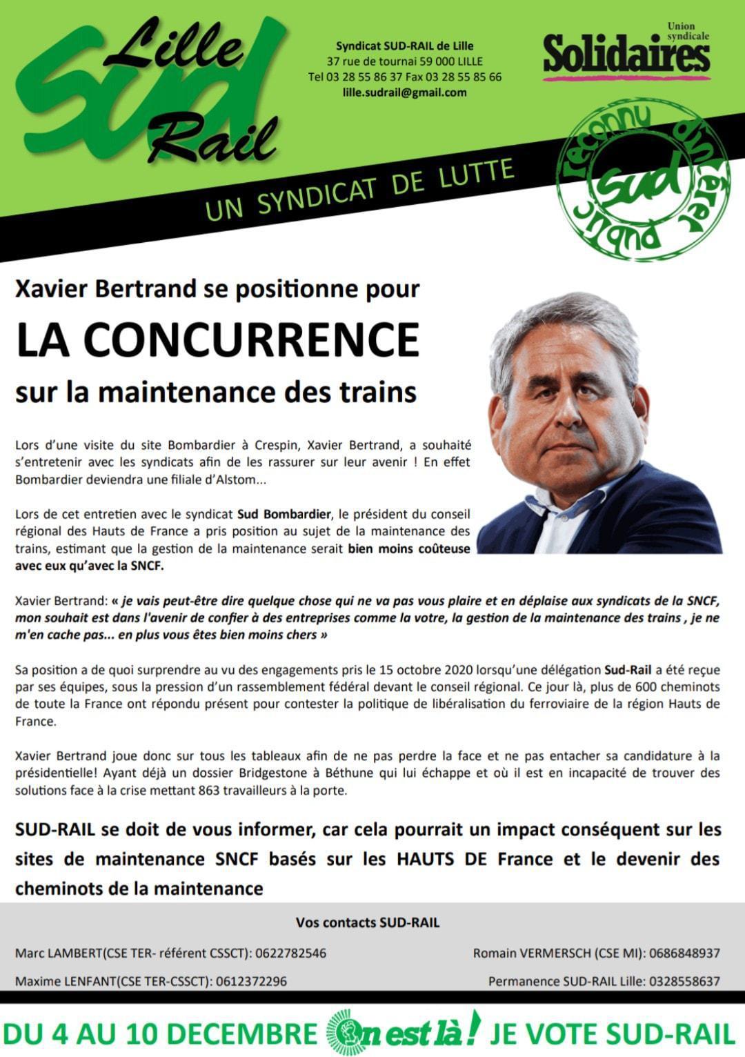 Ouverture à la concurrence dans les Hauts de France