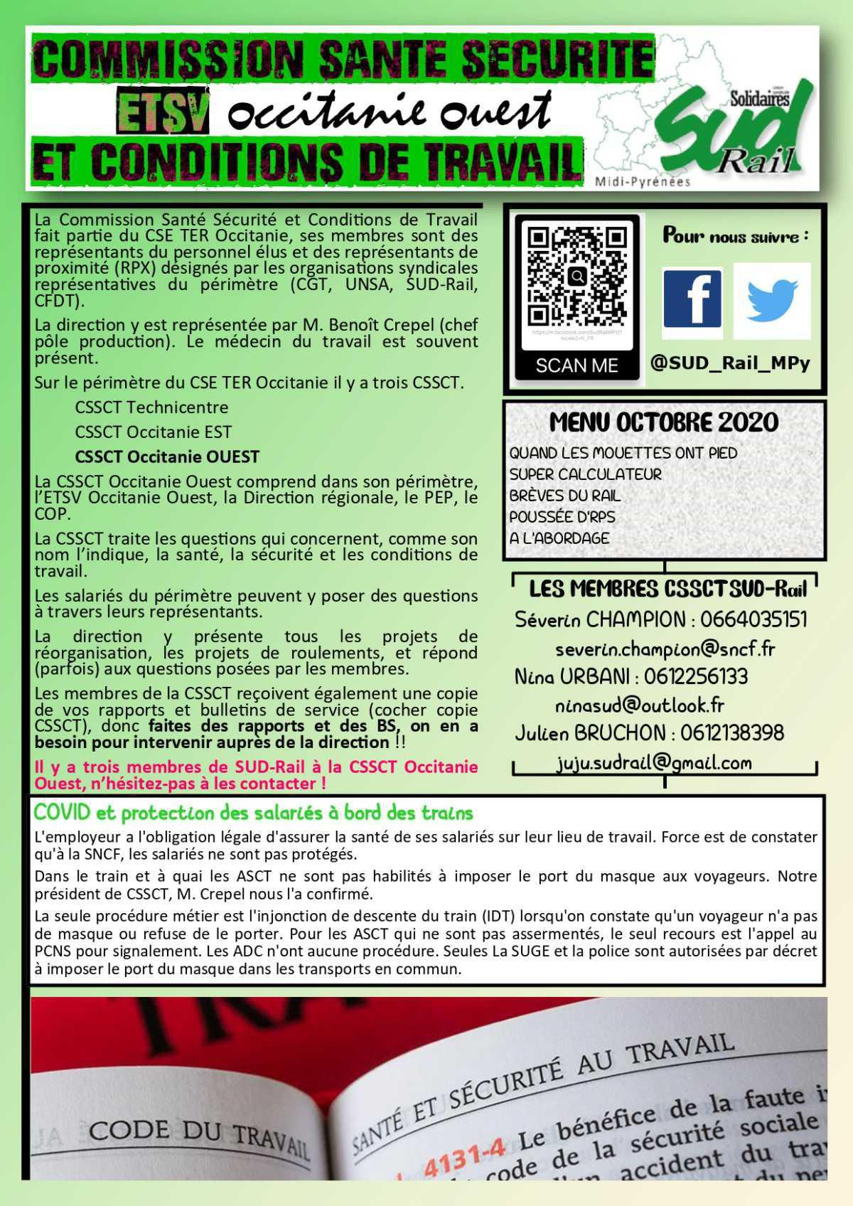 Commission santé Sécurité ETSV