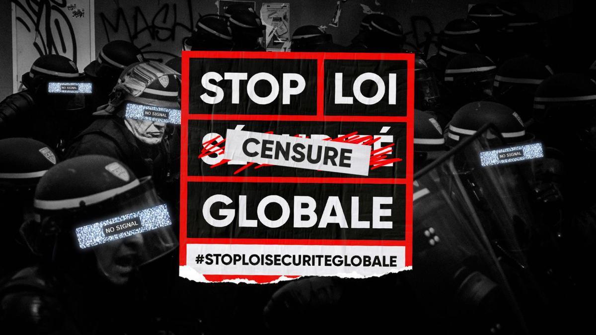 Mobilisons-nous les 3, 16 et 30 janvier contre la loi Sécurité globale et les autres textes liberticides