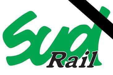 La famille cheminote meurtrie la fédération SUD-Rail endeuillée