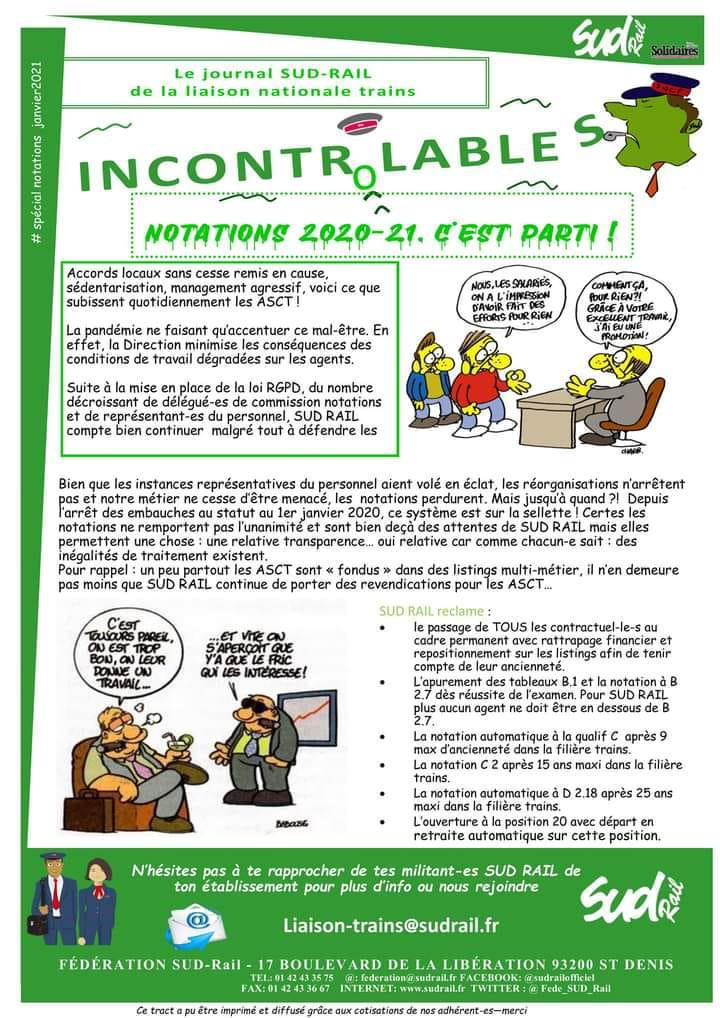 Liaison Nationale Trains : L'Incontrolables...