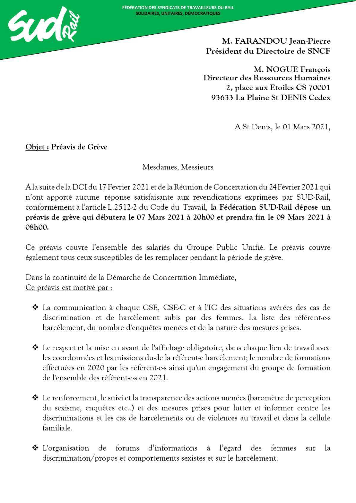 8 Mars : Grève Féministe !