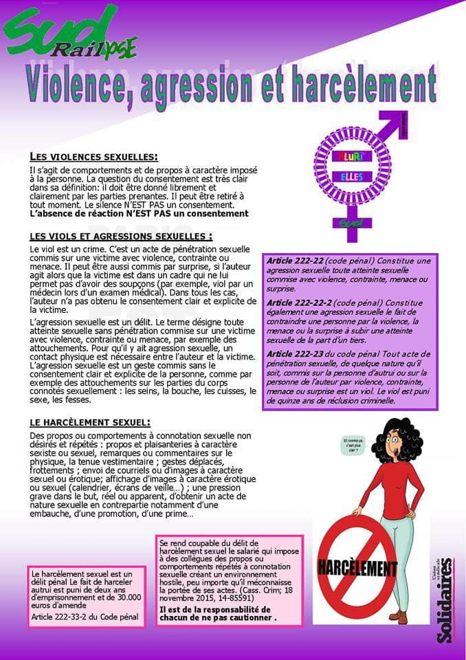 Agir contre les violences sexistes et sexuelles au travail
