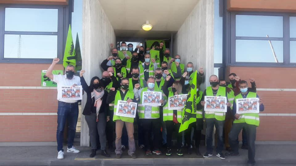 Les 8 grévistes de l'Infrapôle de Paris Nord menacés de sanctions