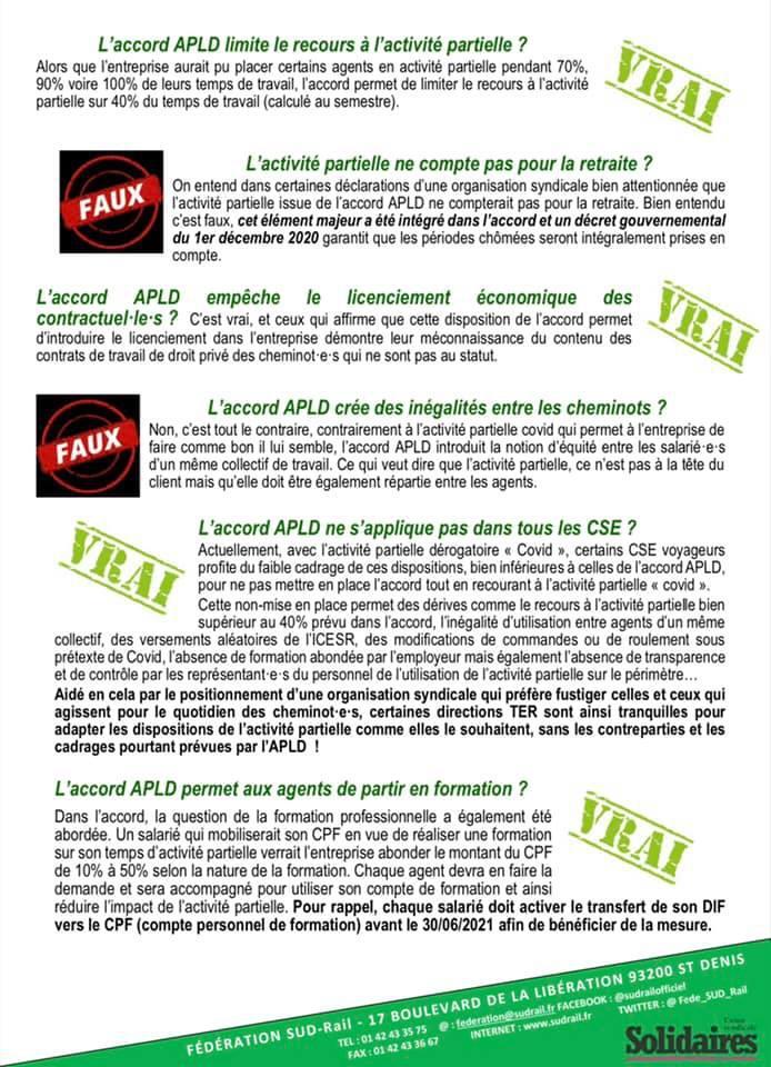 Activité Partielle, APLD... Il est temps de mettre fin aux manipulations et aux mensonges !