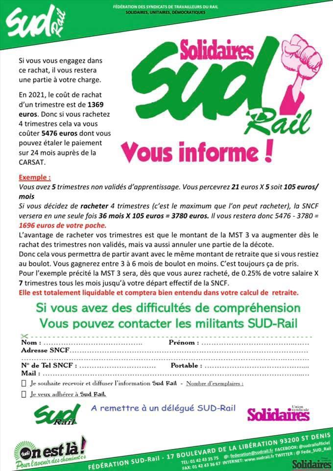 Ex Apprentis SNCF dont l'apprentissage a eu lieu entre 1978 à 2007