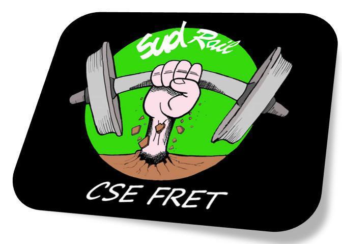 Grève des agents du FRET du site de Somain.