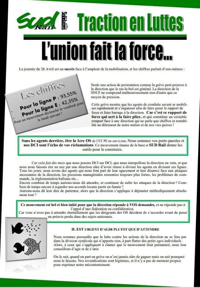Traction en Luttes (Infos grève)