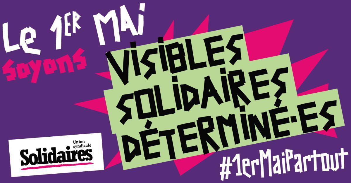 Un 1er Mai des Résistances et de Lutte dans la rue