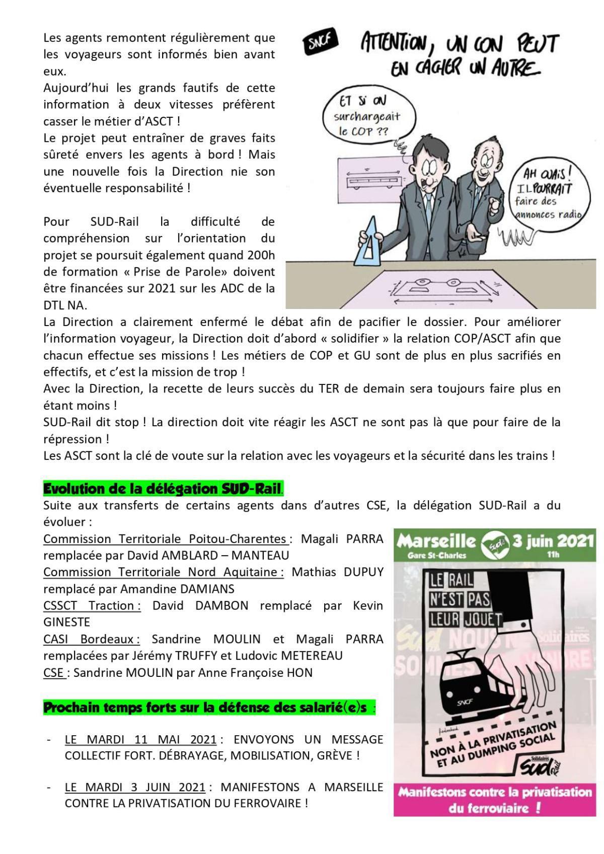 CSE TER Nouvelle Aquitaine