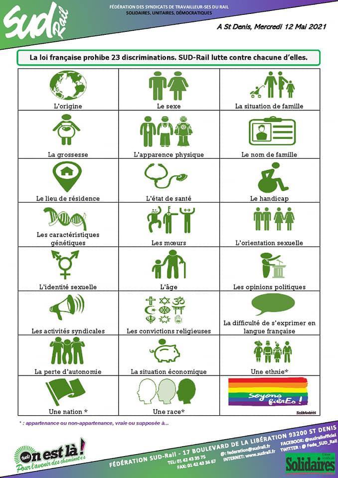 Journée internationale contre l'homophobie, la lesbophobie, la transphobie...