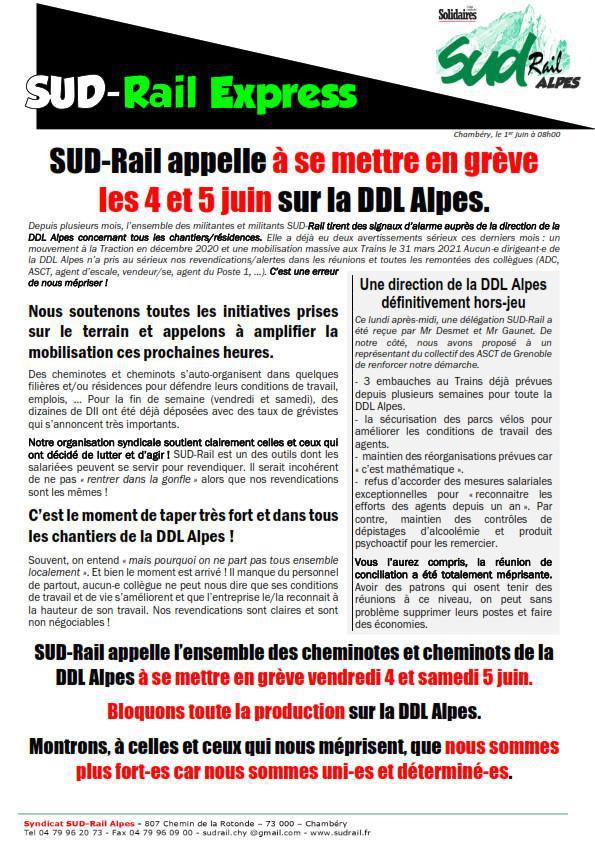 SUD-Rail Express (DDL)