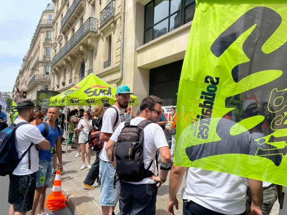 Rassemblement Infrapôle Paris Nord