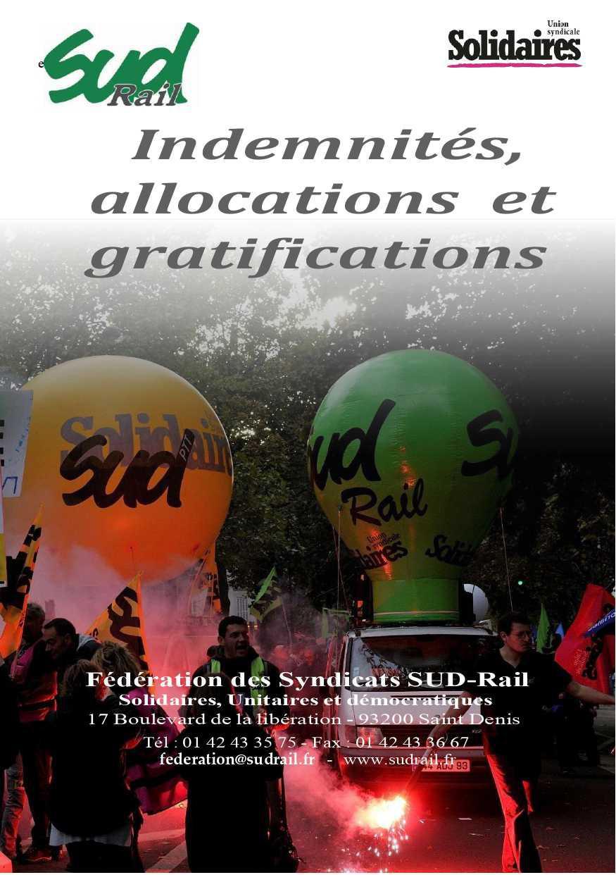 Guide Indemnités, allocations et gratifications