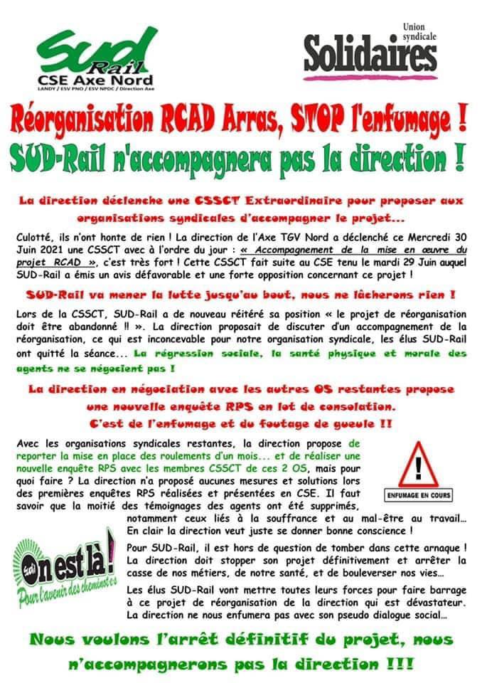 RCAD Arras - STOP l'enfumage !