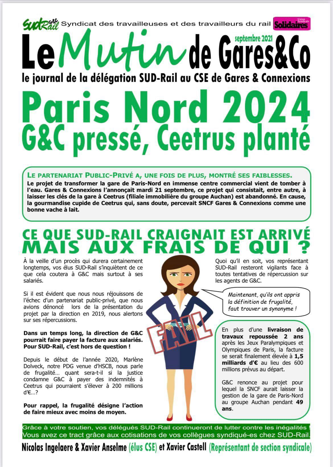 Le Mutin de Gares & Co