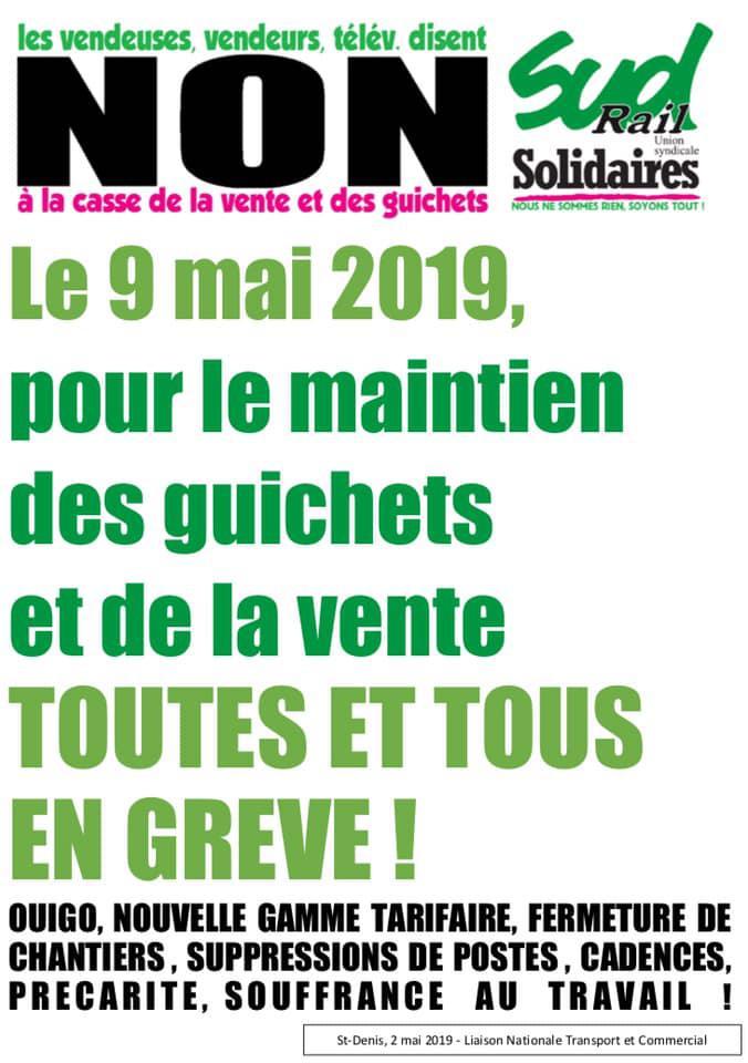 Le 9 Mai, toutes et tous en grève !