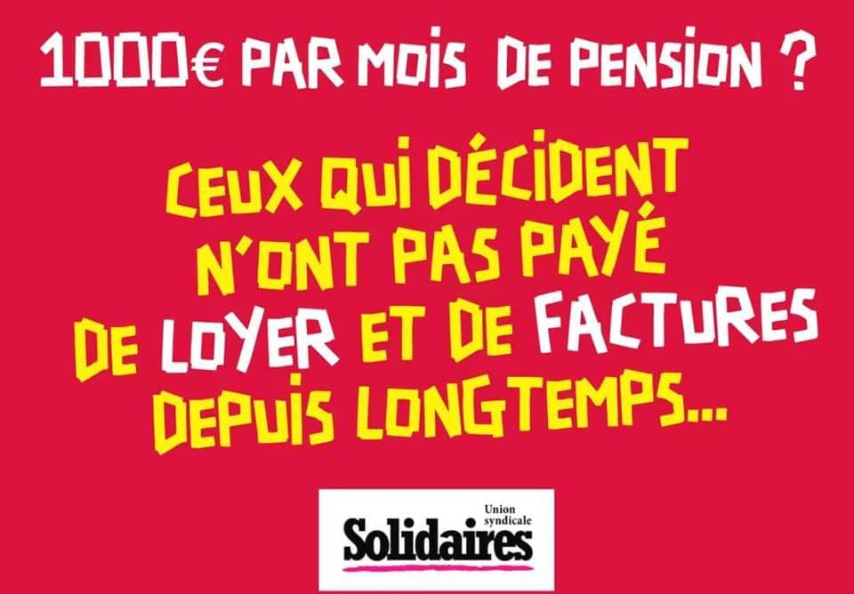 1000 euros par mois de pensions ?