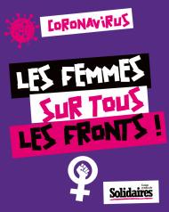 Coronavirus : Les femmes sur tous les fronts !