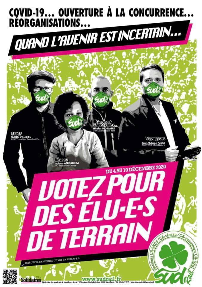 Affiche Election CA