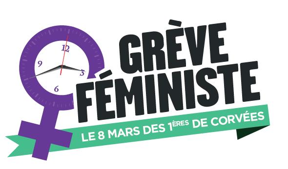 Le 8 Mars, grève féministe !