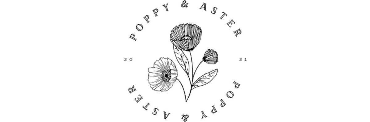 20% off Poppy & Aster