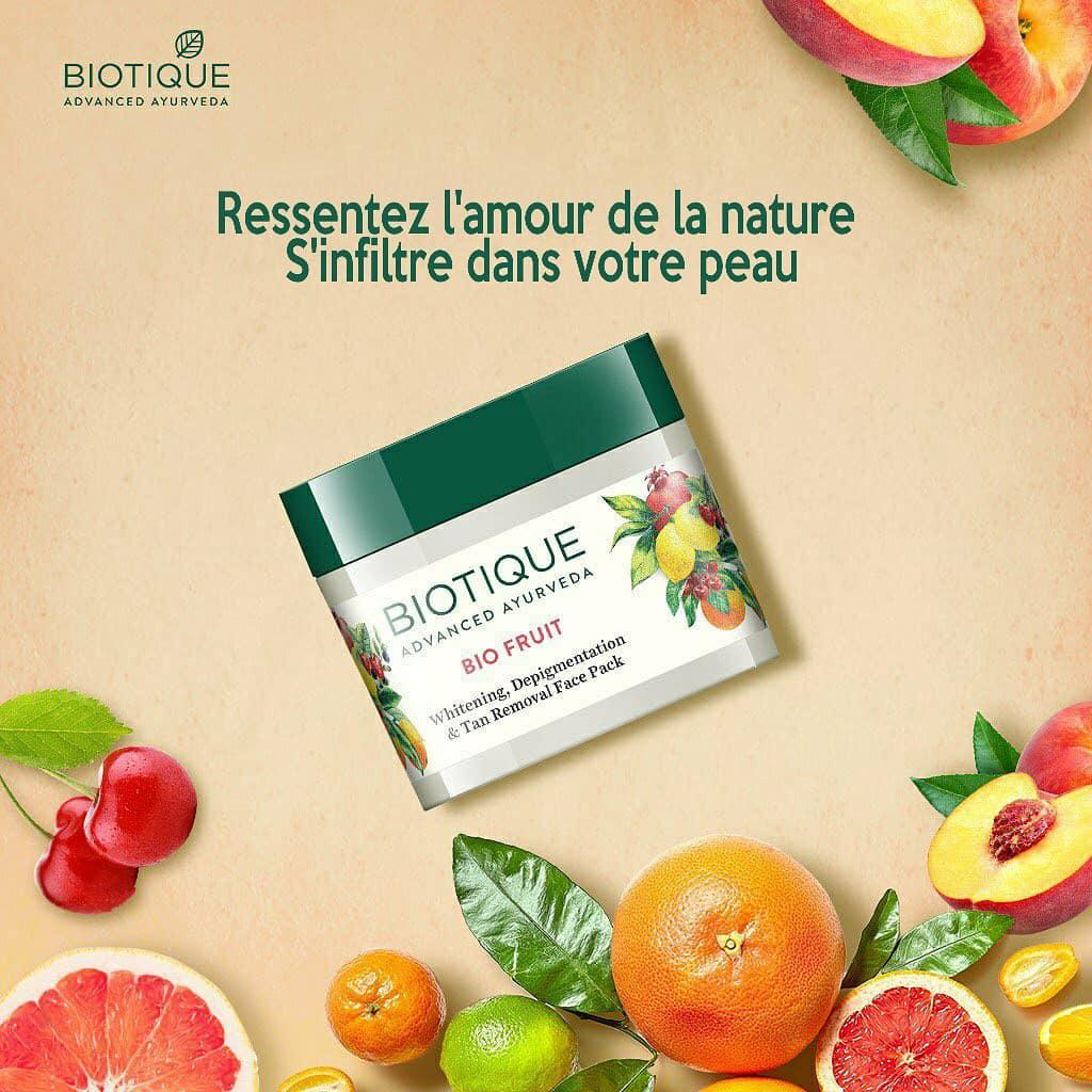 Bio Fruit Face Pack