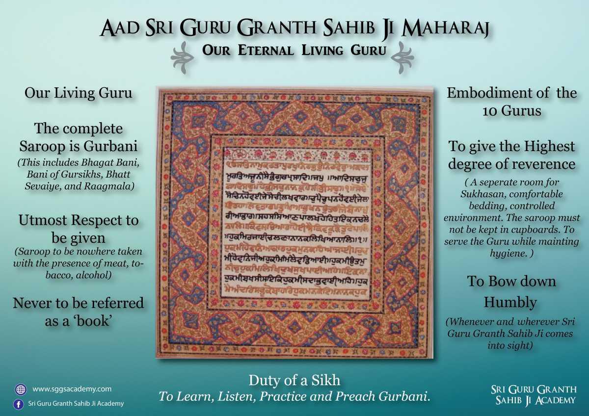 Aad Sri Guru Granth Sahib Ji Maharaj