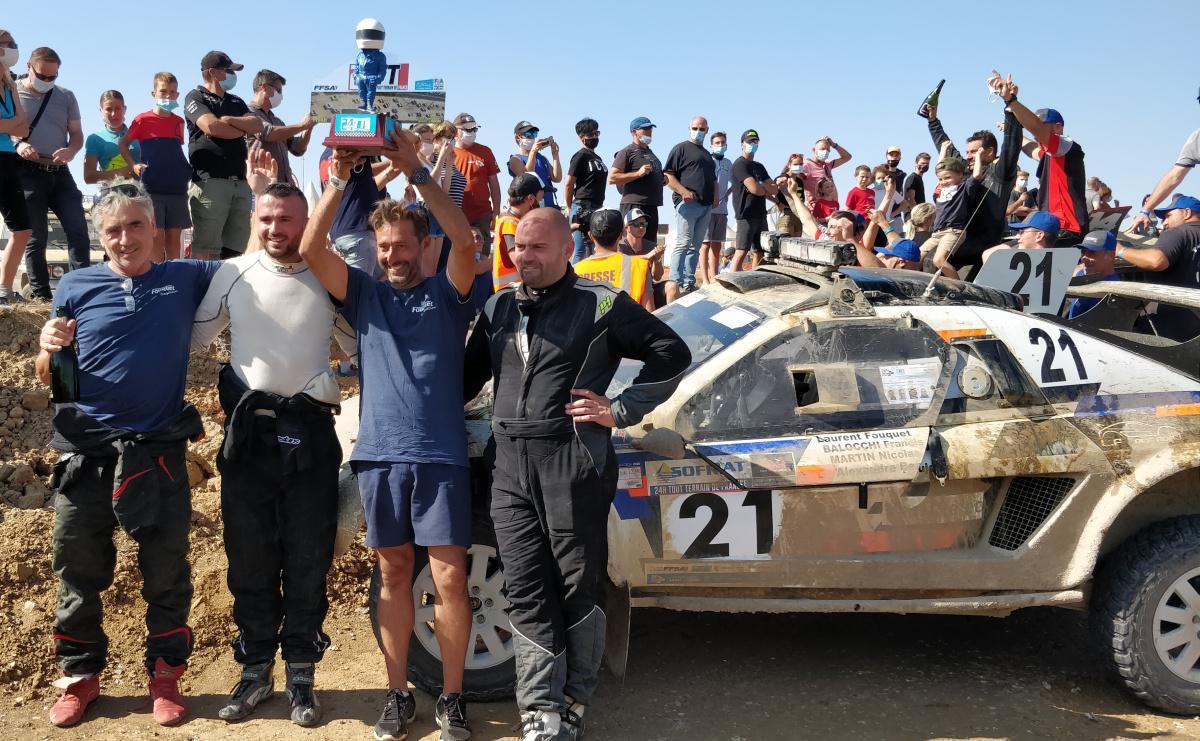 Sublime victoire de Laurent Fouquet, Francis Ballochi, Alexandre Beaujon et Nicolas Martin !